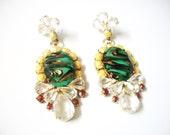 G I N A Metallic Earrings