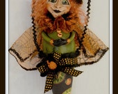 Charmed Confections Sweet Charlotte - Hanging Cone Witch Doll -- HAGUILD FAAP HAFAIR