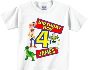 4th Birthday Shirts Shirts for 4th Birthday or ANY Birthday