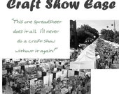 Craft Show Ease - Excel Spreadsheet - Tool - Simplify Your Finances