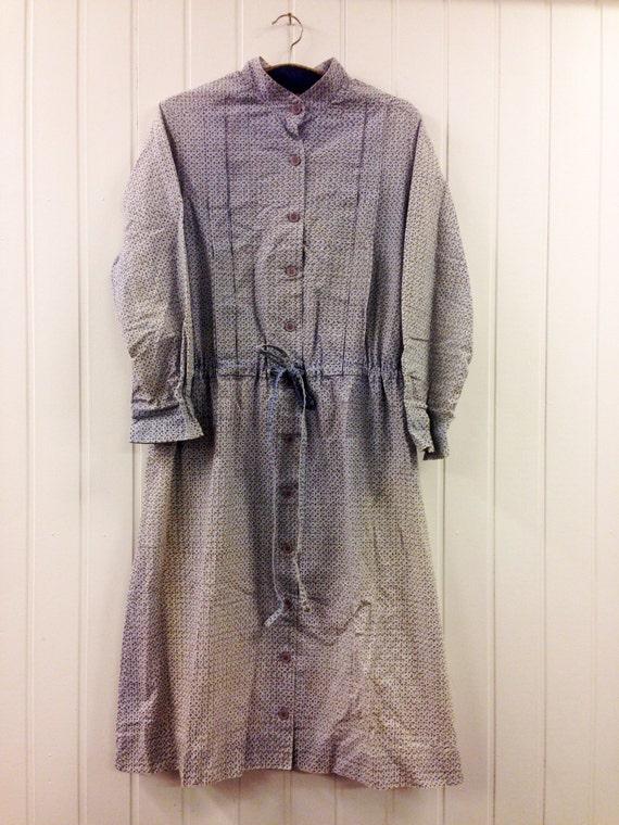 Vintage Marimekko Dress Shirt Dress Size 46 18 Xl 1960