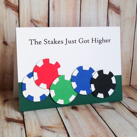 Items Similar To Birthday Card For Him, Funny Vegas Poker