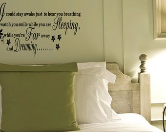 Wall Quotes Aerosmith Breathing Vinyl Wall Decal Quote Removable Wall Sticker Home Decor (B57)