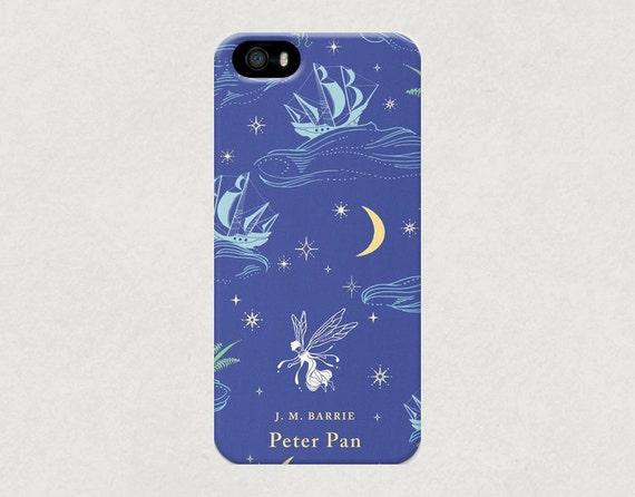 Penguin Book Phone Cover ~ Items similar to peter pan classic penguin book cover