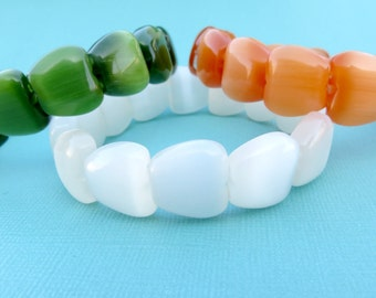 Fiber Optic Apple Bracelets