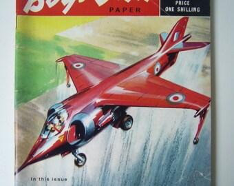 Vintage Boy's Own Magazine, Sept 1961