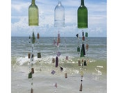 Large Wine Bottle Chimes