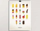 Popsicle Print – Din A3