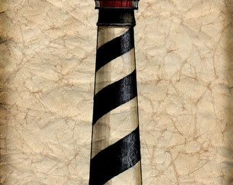 St Augustine Lighthouse Artwork  - 11 x 14 Saint Augustine Light - Florida Lighthouses - St Augustine - Florida - Lighthouses - Art Prints