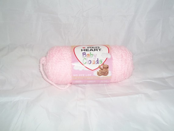 Red Heart Baby Clouds Yarn in Pink Lemonade - 6oz skeins