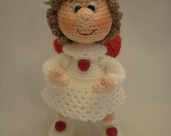 Angel on the wings of love – ToyMagic. Angel Crochet Pattern Love Doll Crochet Pattern PDF Instant Download Amigurumi
