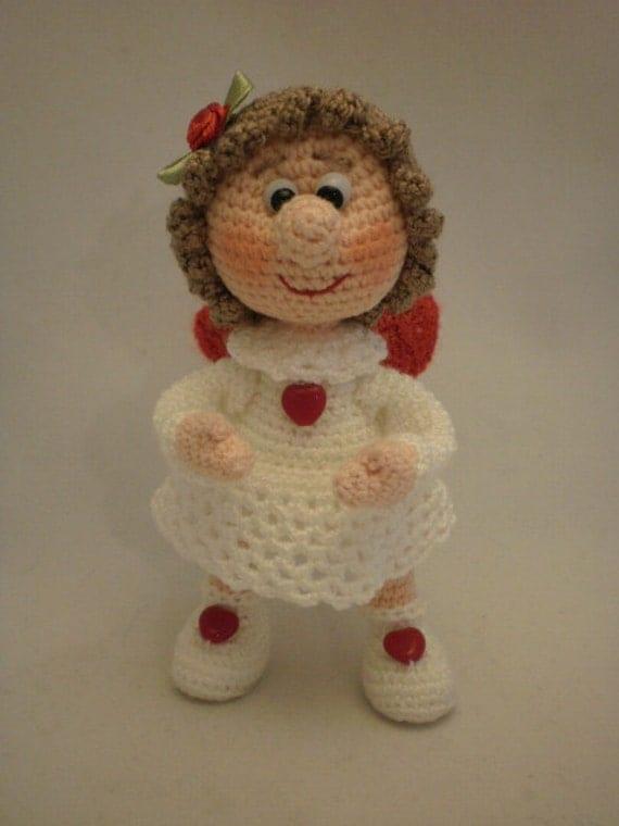 Angel on the wings of love ToyMagic. Angel Crochet Pattern