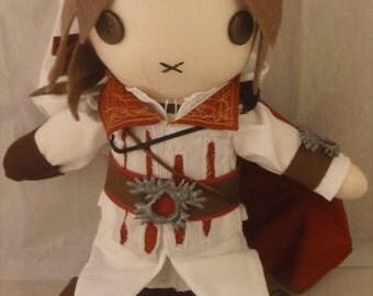 Ezio Auditore Plush Doll