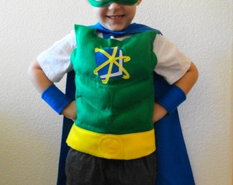 Super Why Cape and Costume