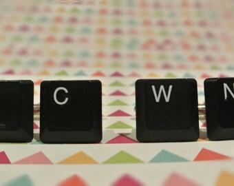 Upcycling Keyboard Cufflinks