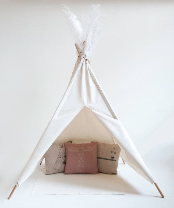 Organic Cotton Tipi Teepee For Kids By Myownlittleindian