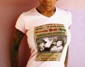Women's V-Neck Top - Coretta Scott King - Pink