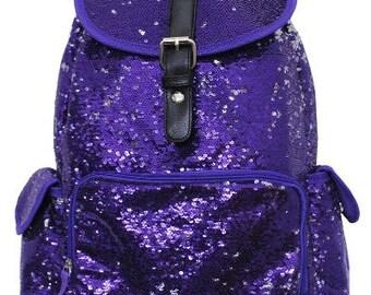 Purple backpack | Etsy