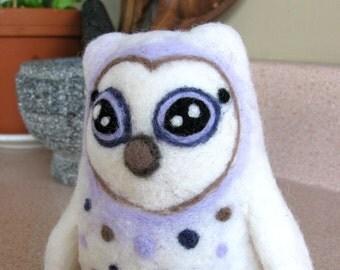 Felted Owl- Hiboux feutré