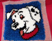 Completed Disney 101 Dalmatian Latch Hook