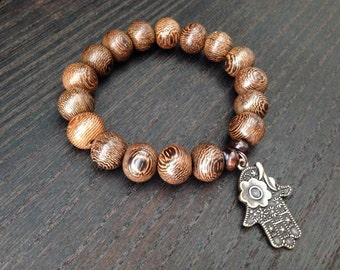 Japa mala bead bracelet perfect even for Bikram yoga