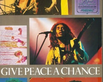 Vintage  Give Peace A Chance  Music and the Struggle for Peace  1983  First Edition