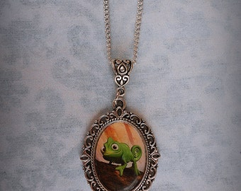 Disney's Tangled Pascal Necklace
