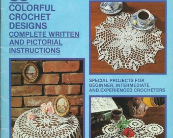 Crochet Fantasy Magazine : Vintage Crochet Fantasy Magazine Ba ck Issue October 1982 Number 2 ...