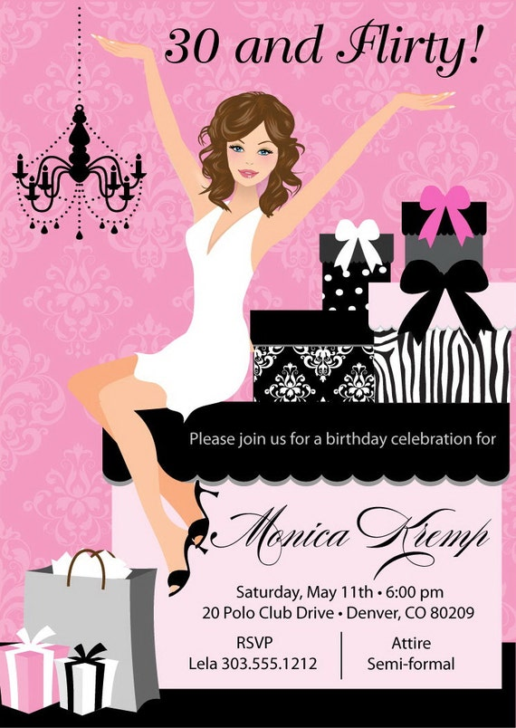 Pamper Party Invites was perfect invitations sample