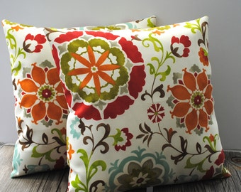 2 Swavelle/Mill Creek Indoor/Outdoor pillow covers, 20x20, cushion, decorative throw pillow, decorative pillow, accent pillow