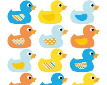 Rubber duck clipart   Etsy