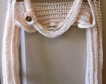 Crochet Pattern Shrug Necklace Cowl Shrug  Bolero