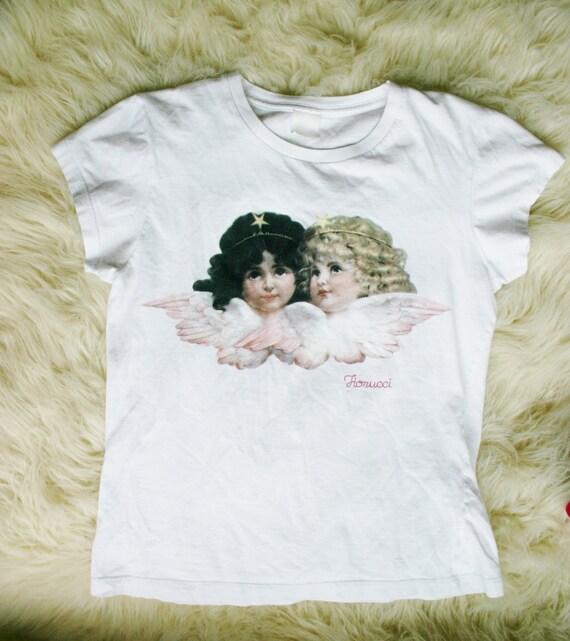 90s Fiorucci Angels Tshirt 90s Baby Doll Club Kid T Shirt