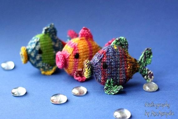 Amigurumi Knit Patterns Easy : Amigurumi fish knitting pattern easy knitting tutorial with