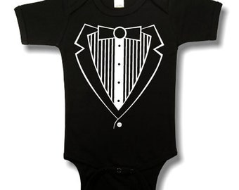 Baby Boy TUX Bodysuit