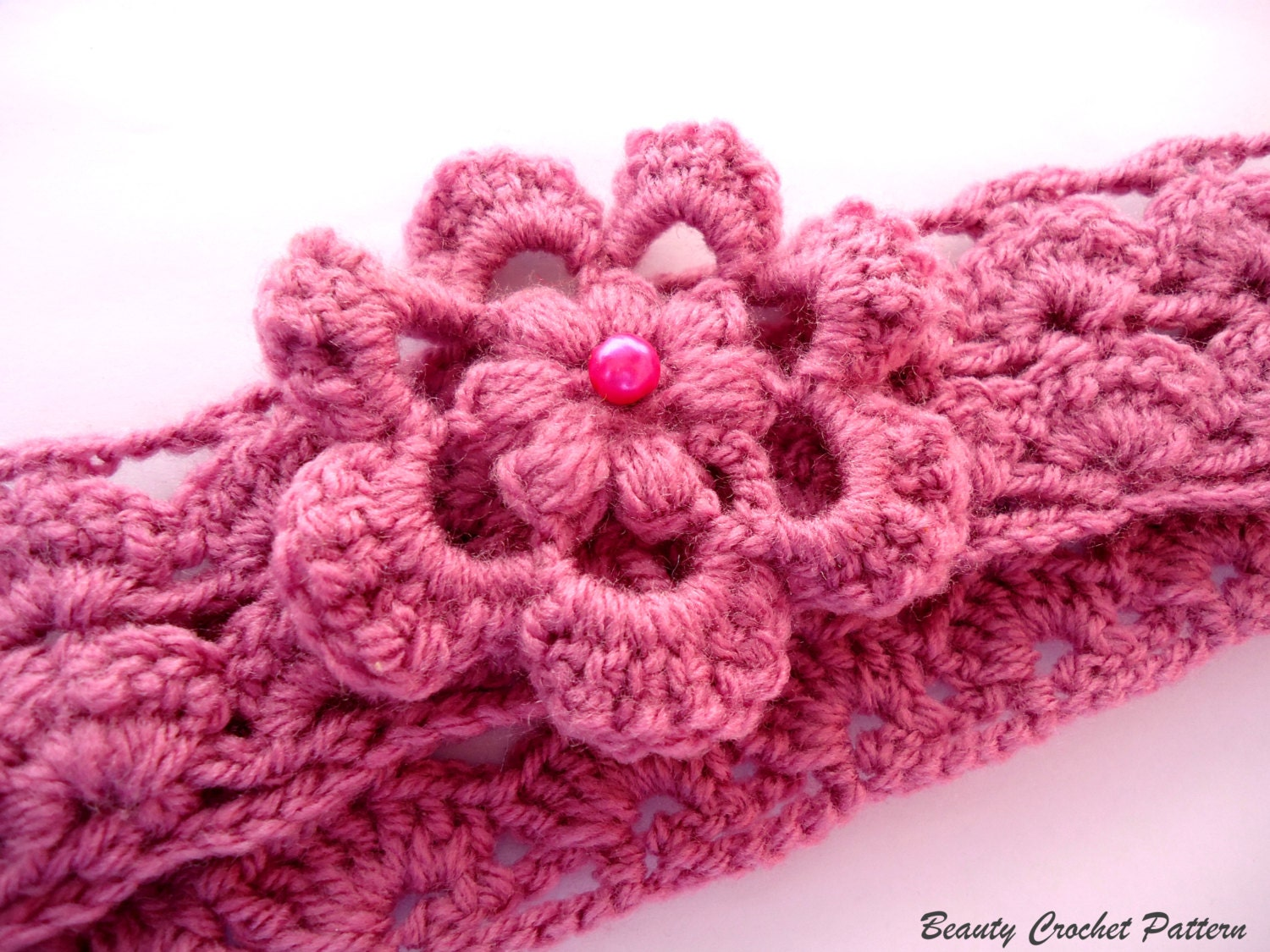 Simple Crochet Baby Headband Pattern ~ Dancox for .