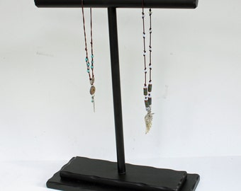 "Necklace Display,18"" x 15"" wide, Necklace Holder T Bar, Necklace display, Jewelry Display, Jewelry Holder, Bracelet displays"