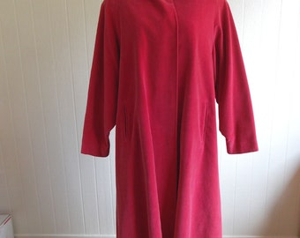 Pink swing coat | Etsy