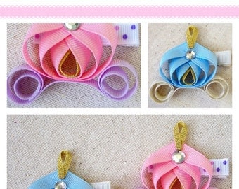 Princess Carriage Ribbon Sculpture TUTORIAL in PDF, Instant Download