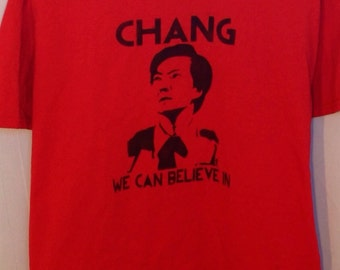 Chang We Can Believe In, Ben Chang, Greendale, NBC Community, Shirt