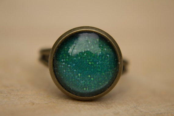 space ring galaxy ring solar system ring green ring