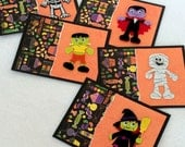 Halloween Cards (Blank, set of 5, with envelopes)