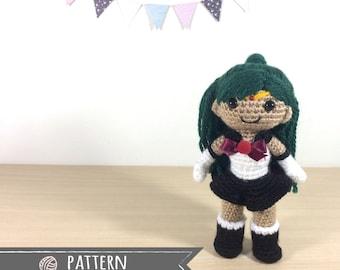 Sailor Pluto Amigurumi Crochet Doll Pattern
