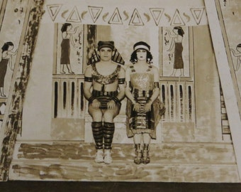 Cleopatra - Original 1910's Chicago Theatre Photograph By H A Atwell Studio 14 x 11 - Free Shipping