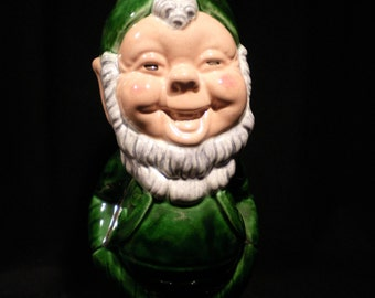 Vintage Goldammer Ceramic Leprechaun Planter from San Fransisco