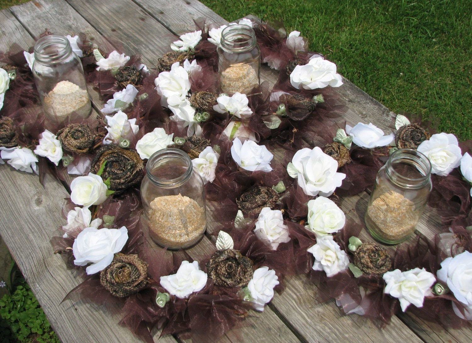 camouflage wedding decorations camo wedding lighted centerpiece set of 4 rustic by 2418