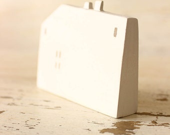 white ceramic house