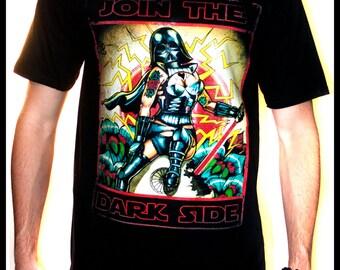 Join the Dark Side Darth Vader Pin up T Shirt