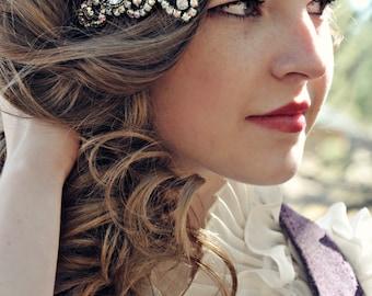 Posh Society Great Gatsby Headband AB Crystals