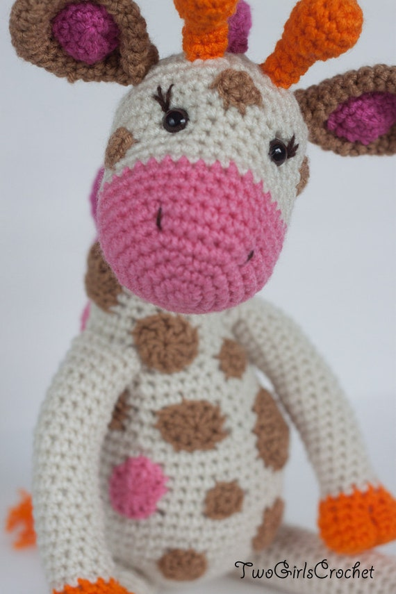 Crochet Patterns For Giraffe : Giraffe Nursery Crochet: Free amigurumi giraffe pattern ...